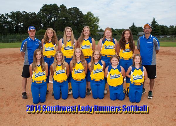 2014 Southwest Softball Team