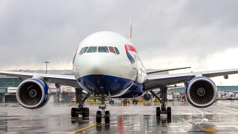 British Airways Boeing B777-200