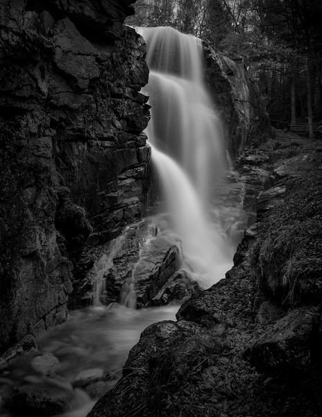Flume Gorge Waterfall, New Hampshire