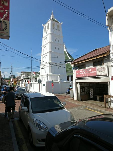 Minaret of Kampung Kling Mosque