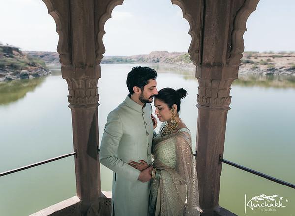 Shivani & Kunal, Balsamand Jodhpur