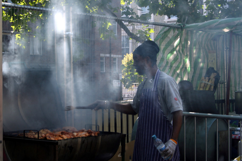 Notting Hill Carnival has a variety of traditional food available