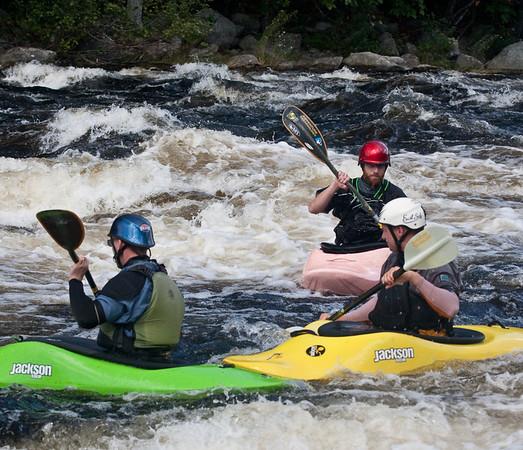 Kayaking Penobscott 2009