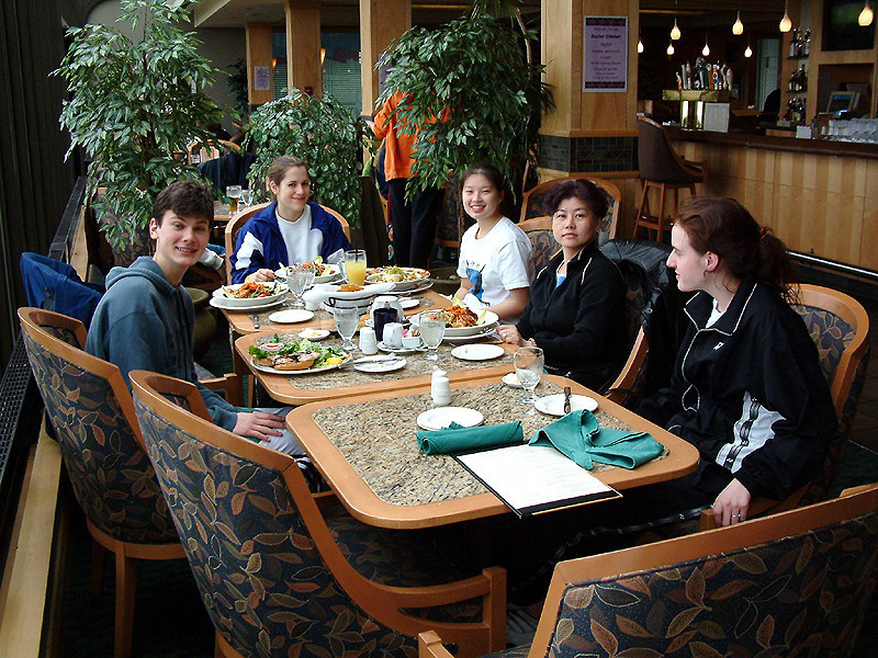 Lunch at the Hollyburn - The gang and the Chees.jpg