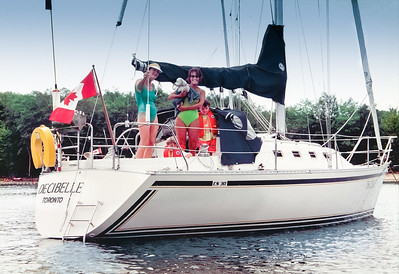 Boating with Liz & John