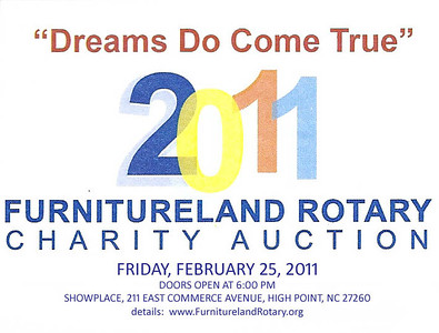 2011-Furnitureland Rotary Club Auction