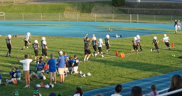 Eagan FB Kick off night