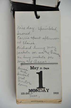 Day Book 1923 - May