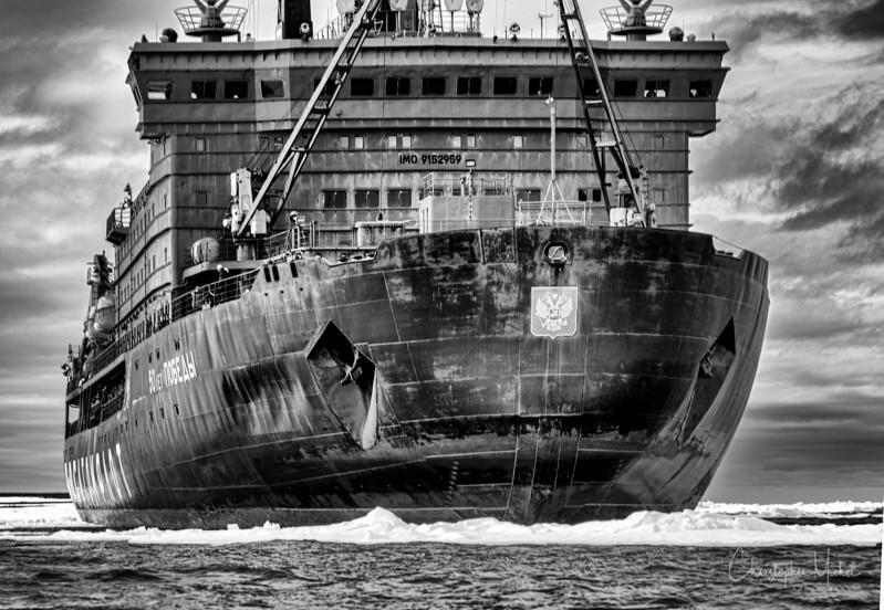 Hull of 50 Years of VictoryBW.jpg