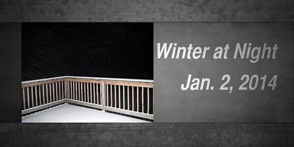Winter at Night_Jan. 2, 2014