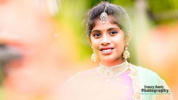 Ananya |Saree Function | Virginia