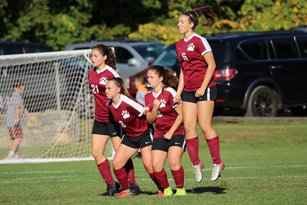 Varsity Girls Soccer vs Newtown - 09/27/2019
