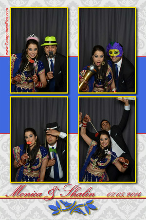 Monica & Shalin's Photo Booth Prints