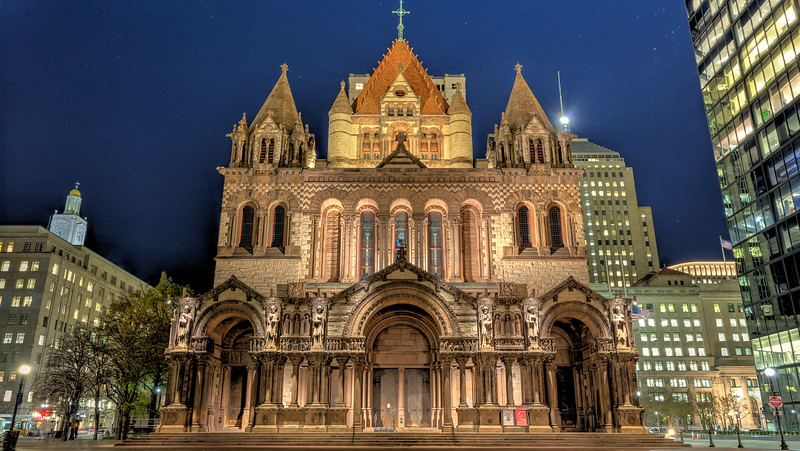 Trimity Church at Copley Square