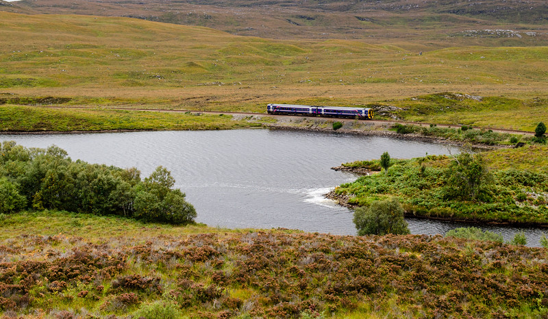 Scotrail train on the Kyle Line