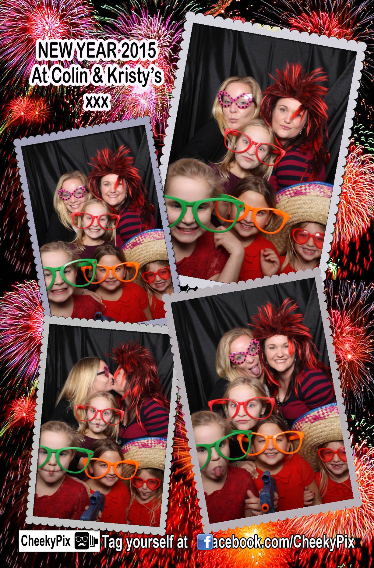 NYE Party photobooth hire