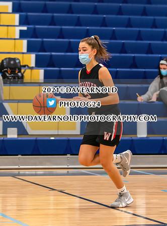 2/13/2021 - Girls Varsity Basketball - Wellesley vs Needham