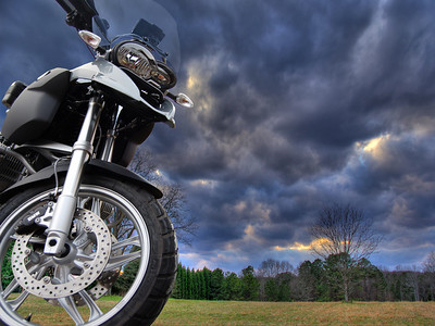 Creative & Scenic Photos - BMW Motorcycles