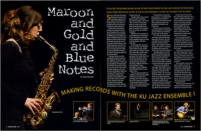 Tower- Kutztown University mag.- Jazz Ensemble