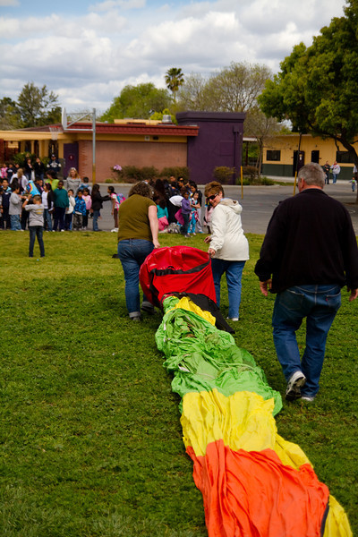 HUNT & Hot Air Baloon at Kids Club