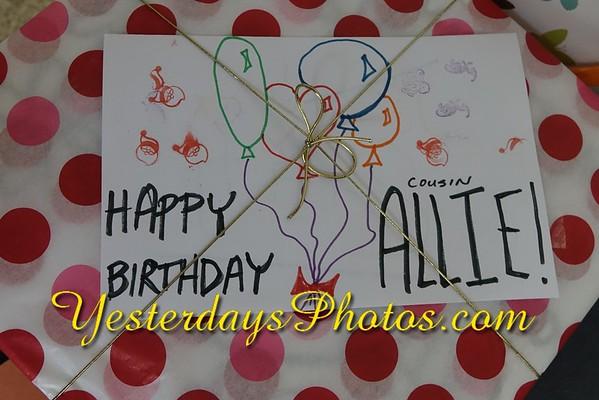 Allie's Fifth Birthday