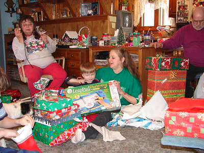 2005 Christmas at Jim's Mom's Home in Iowa