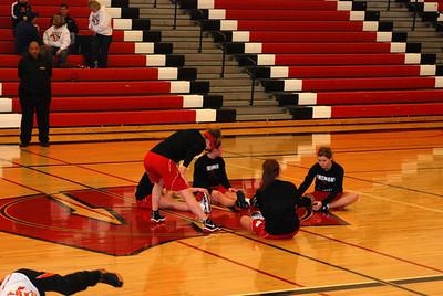 Girls Varsity Basketball - 2009 - 2010 - 3/3/2010 Districts Grant JG