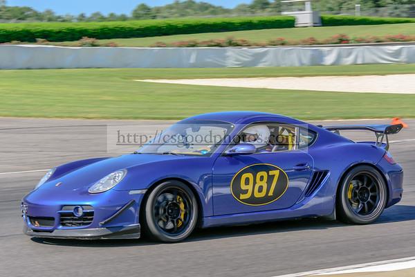 JR 987 Blue Porsche Cayman