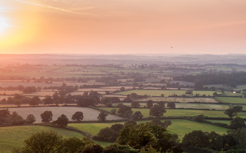 Blackmore Vale sunset