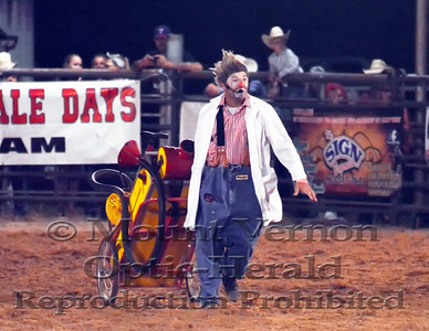 2016 Rodeo Clowns Saturday 9/3/2016