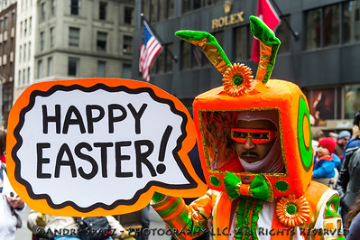 The New York City 2013 Easter Bonnet Festival and Parade
