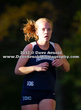 10/16/2012 - Girls Varsity Cross Country - Needham vs Framingham