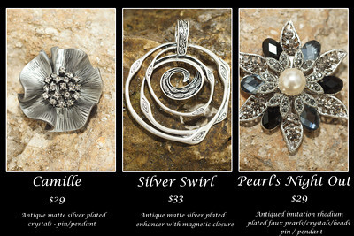 Earrings and Pendants & More... oh my!