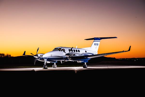 King Air 250 N511BX (High Res)