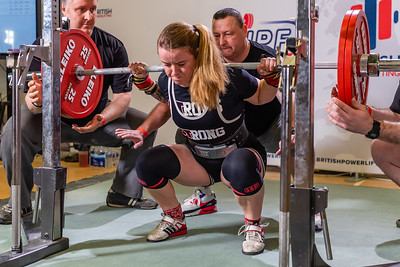 Womens British Powerlifting 8th March 2020 Group A