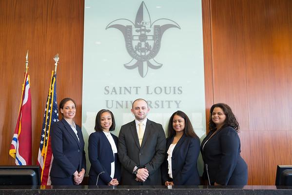 SLU Law Graduates Spring 2015