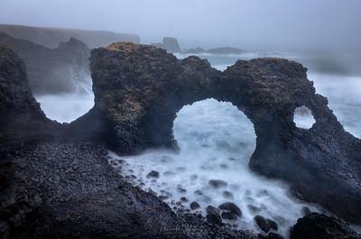Arnarstapi Arch (The Gate to Foul Weather)