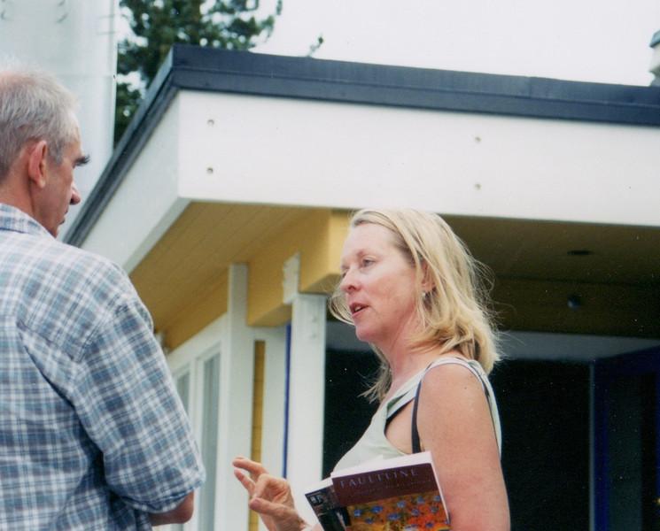 Rhoda Huffey. Kim Krusoe (left).