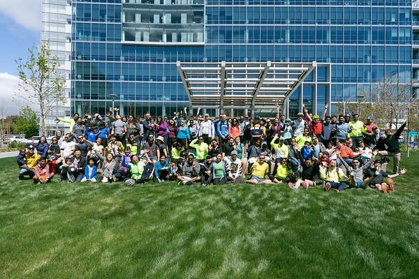 Google's Earth Day Bike Ride 2019
