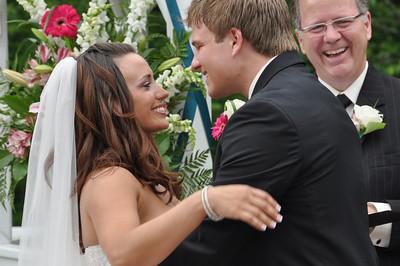 Katie and Alec's wedding June 20, 2009