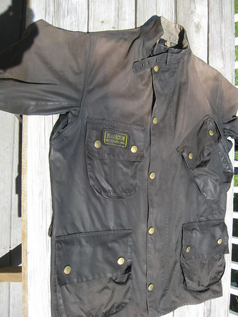 Waxed Cotton Motorcycle Gear