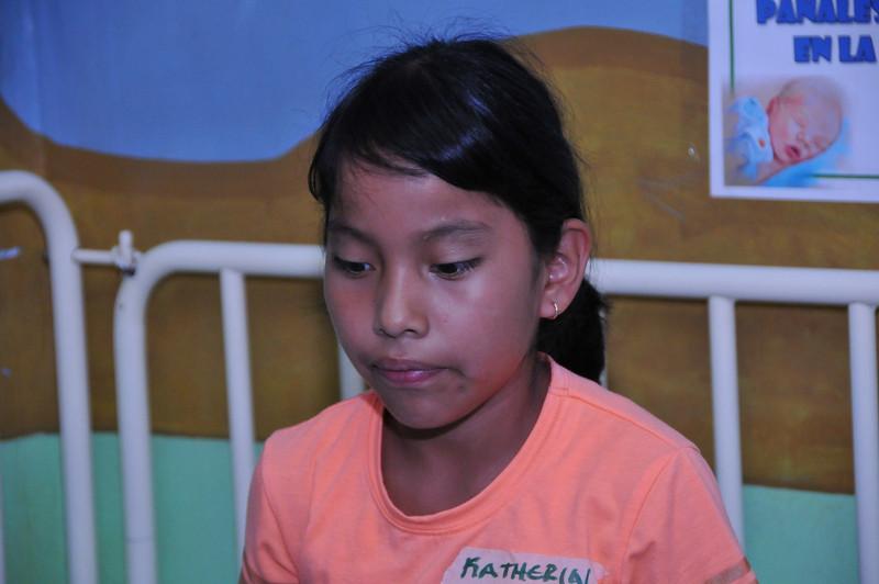 18: Katherin Paola Rodriguez Xicon.  Congenital deformity.  Hit head at school, no follow up