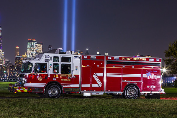 2019 Tribute in Lights Apparatus Photo Shoot