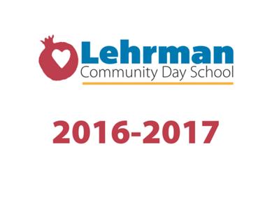 Lehrman 2016-2017