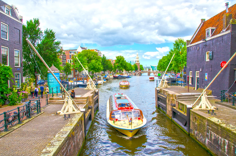 Waterways of Amsterdam
