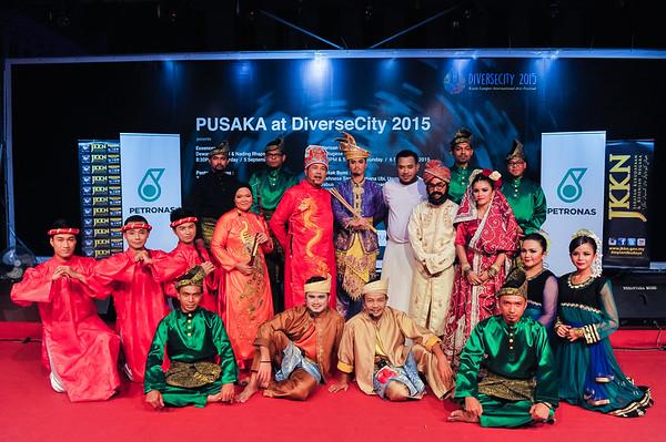 JIKEY AKRAB | PUSAKA AT DIVERSE CITY 2015