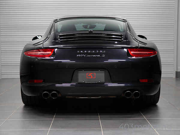 '12 911 Carrera S - Basalt Black