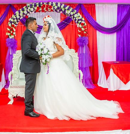 Alvin weds Jocelyn
