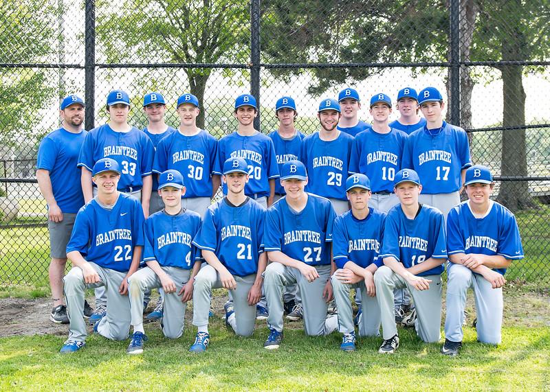 2019 Braintree Freshman Baseball.jpg