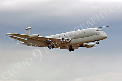 Flying British RAF BAC Nimrod Airplane Pictures